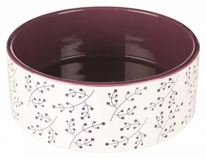 Bilde av Hundeskål Keramikk Plomme